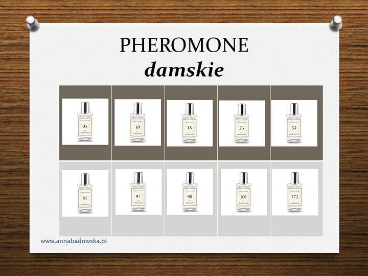 PHEROMONE PERFUMY DAMSKIE