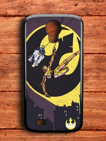 Old R2 D2 Batman Samsung Galaxy S4 Case