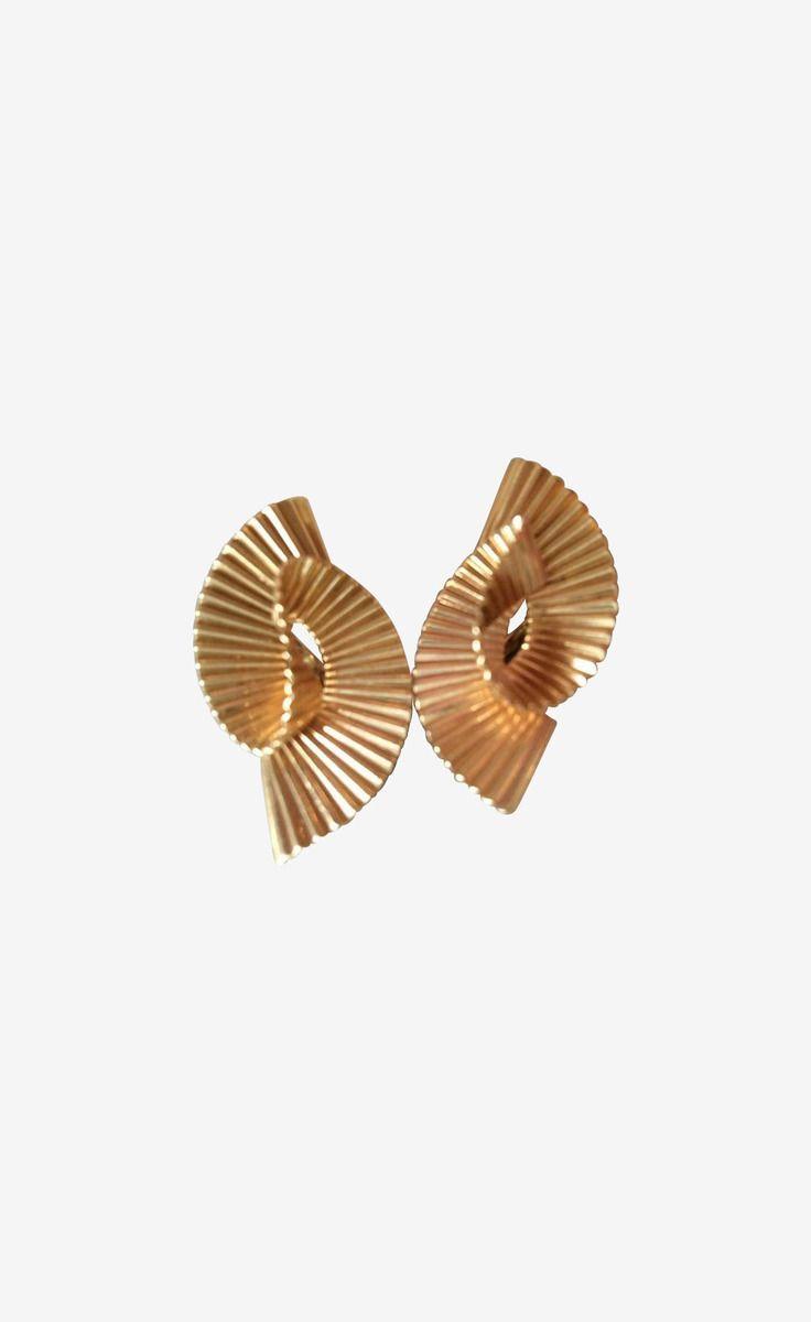 Tiffany & Co. Gold Earrings