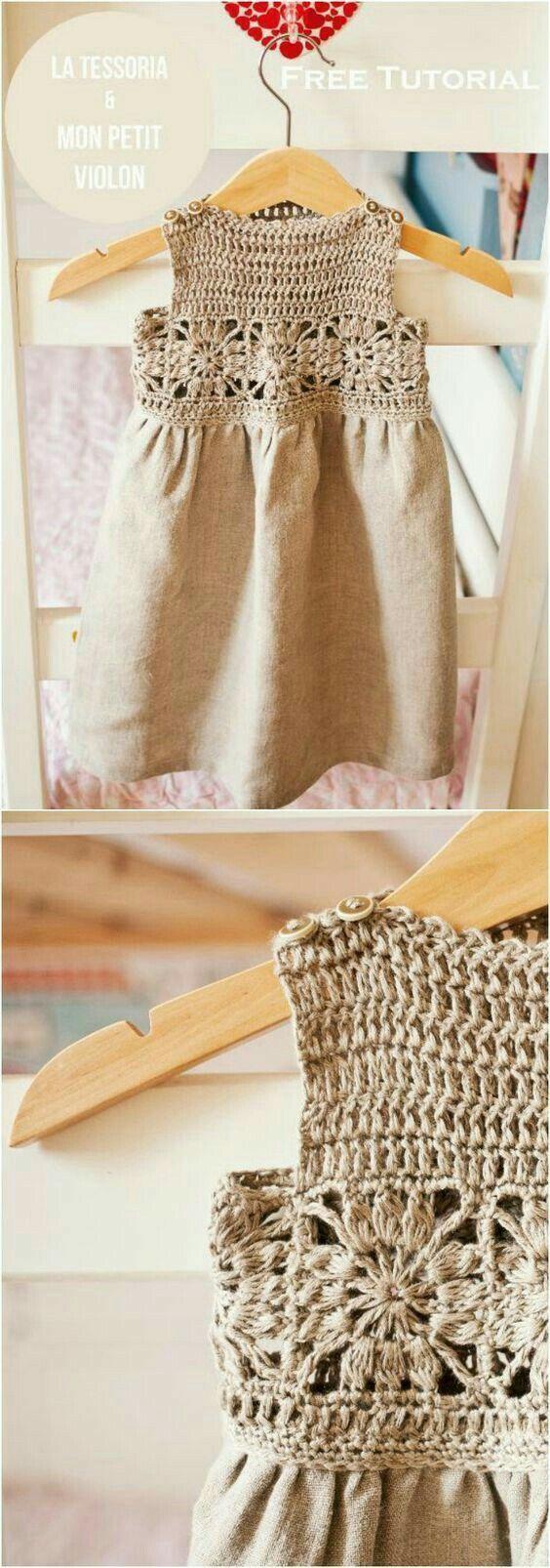 126 best Little Girly Croche images on Pinterest | Kinderkleider ...