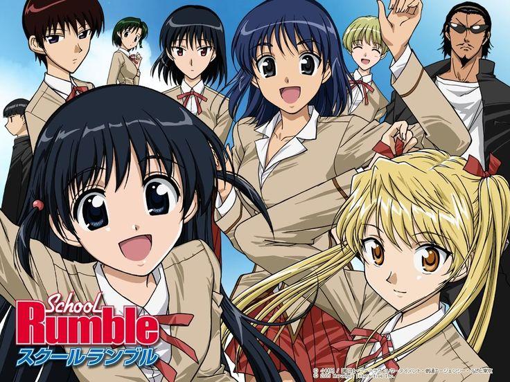 School Rumble Best comedy anime, School rumble, Comedy anime