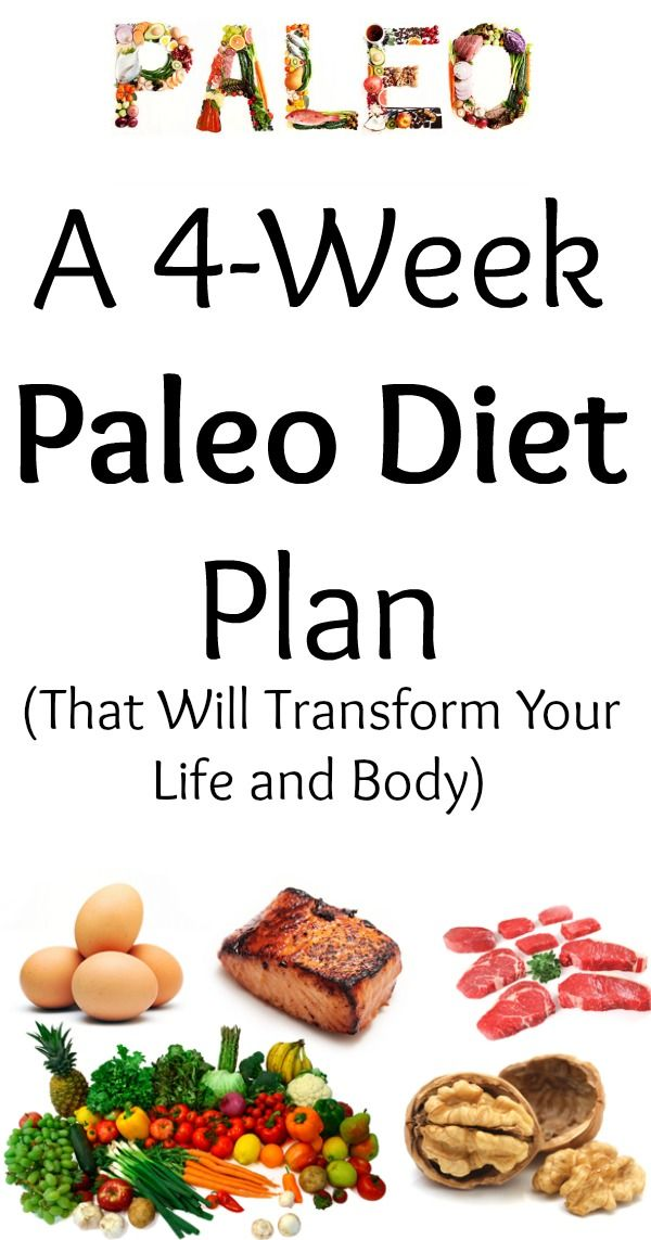Grab 4-Weeks of Paleo Meal Plans, Grocery Lists, and Meal Planning Guide Guaranteed To Transform Your Body and Life!