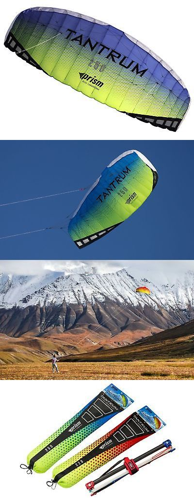 Kites 2569: Prism Tantrum Dual-Line Parafoil Kite With Control Bar 75-Feet -> BUY IT NOW ONLY: $41.14 on eBay!