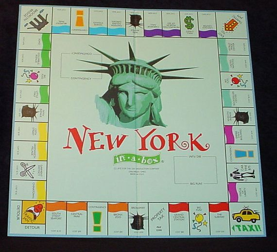 how to play monopoly new york city