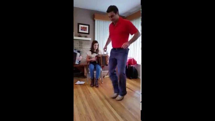 Brian Cunningham - Sean Nos dancing