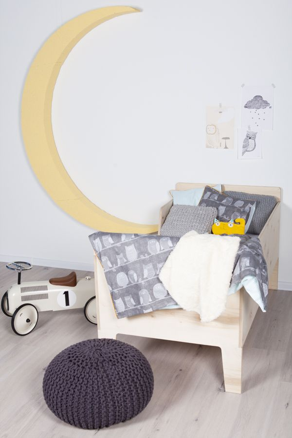 My Label home concept - owl kids bedding