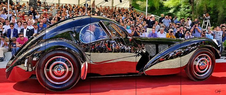 Bugatti Type 57SC Atlantic at Villa d'Este. Discover @Treniq