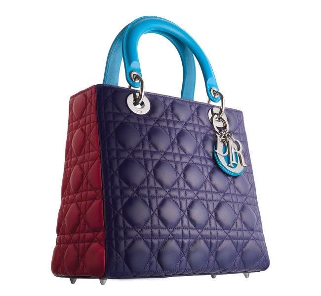 #Dior Lady dior bag tricolor