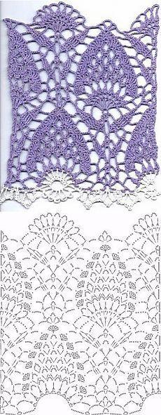 El crochet patrón de circuito: