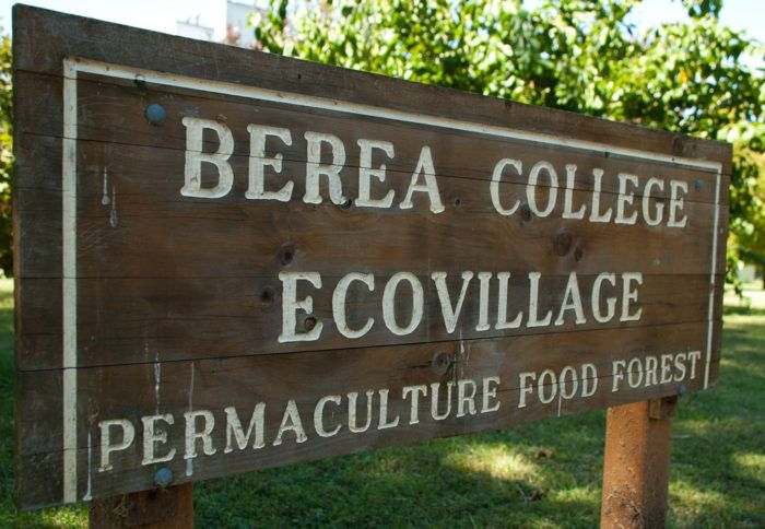 Environmental sustainability is an important issue to Berea College.