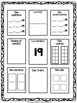 Des nombres de 10 à 20 - Développer le sens des nombres -