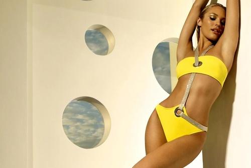 Candice Swanepoel, Zeki Triko swimwear, SS 2010