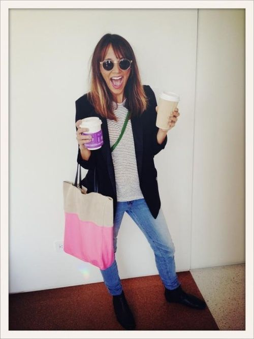 Rashida Jones. I love her and her style <3