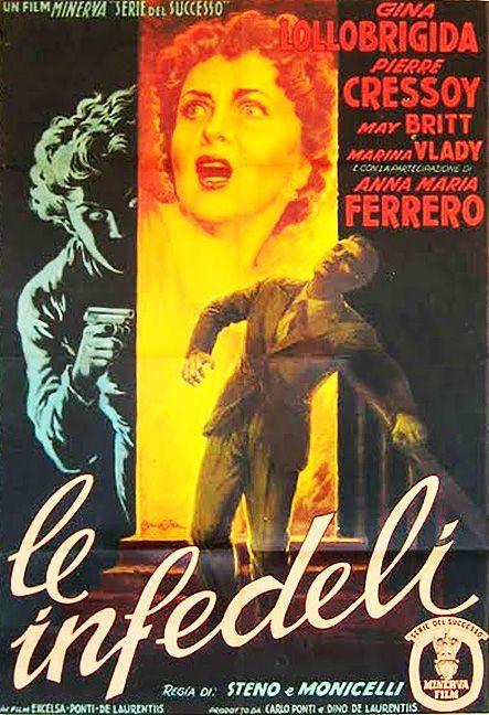 Le Infedeli (1953) Mario Monicelli, Gina Lollobrigida, May Britt, Irene Papas…