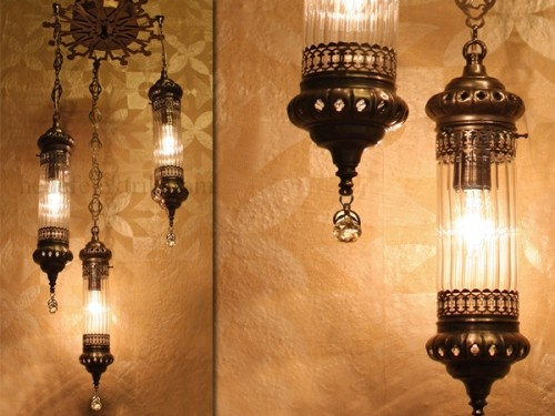 Osmanlı 3'lu Sarkıt #ottoman #osmanli #lighting #aydinlatma