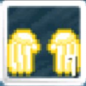 Golden Angel Wings! It is 1130 Wls in Growtopia!