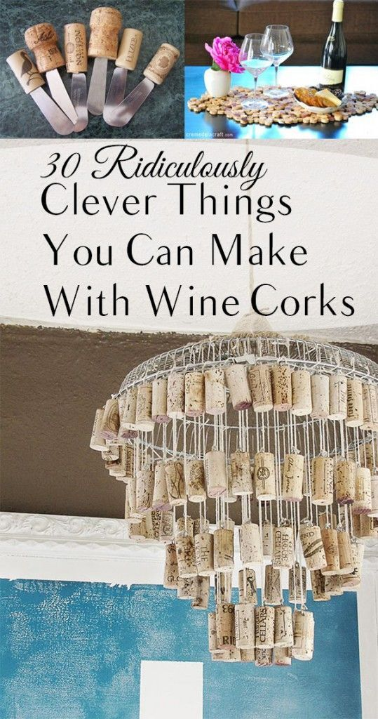 30 Ridiculously Clever Things You Can Make With Wine Corks