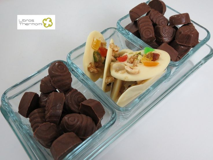 Bombones de chocolate y avellana con Thermomix