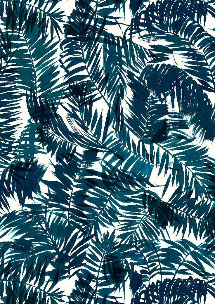 pattern by Minakani for Naf Naf #minakani #nafnaf #palms