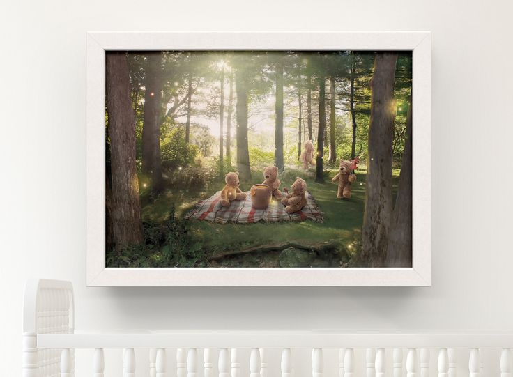 The Teddy Bear's Picnic Woodland Art