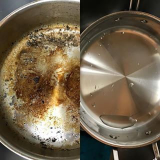 Are Your Baking Pans Covered With Stains? This Solution Removes Them For Good http://www.wimp.com/12-tips-deep-cleaning-scrub-baking-pan/