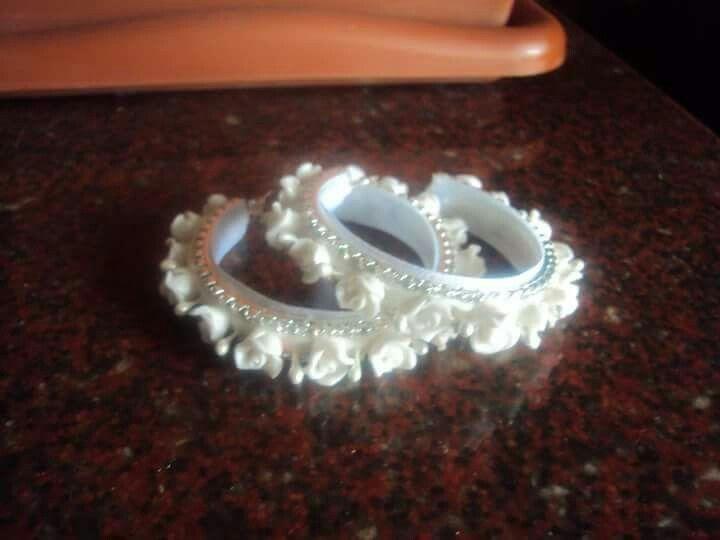 Cold Porcelain earrings