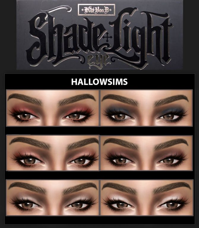 SHADE & LIGHT PALETTE at Hallow Sims via Sims 4 Updates