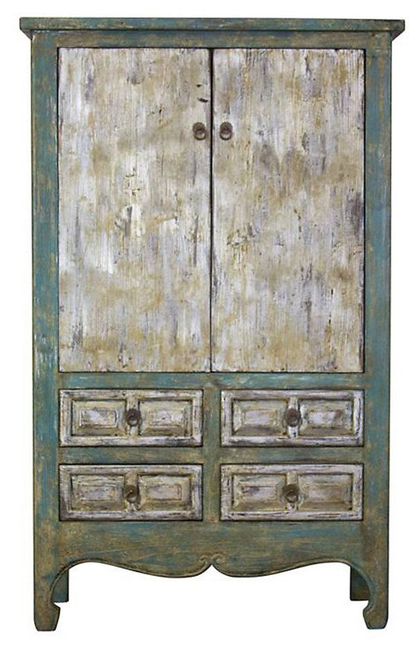 One Kings Lane - A Serene Scene - Lorenza Tall Cabinet