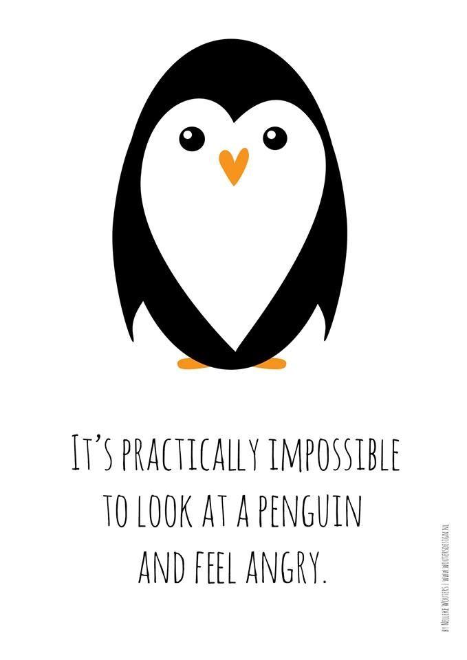 Pinguins penguin happy | by Nelleke Wouters | www.woutersdesign.nl