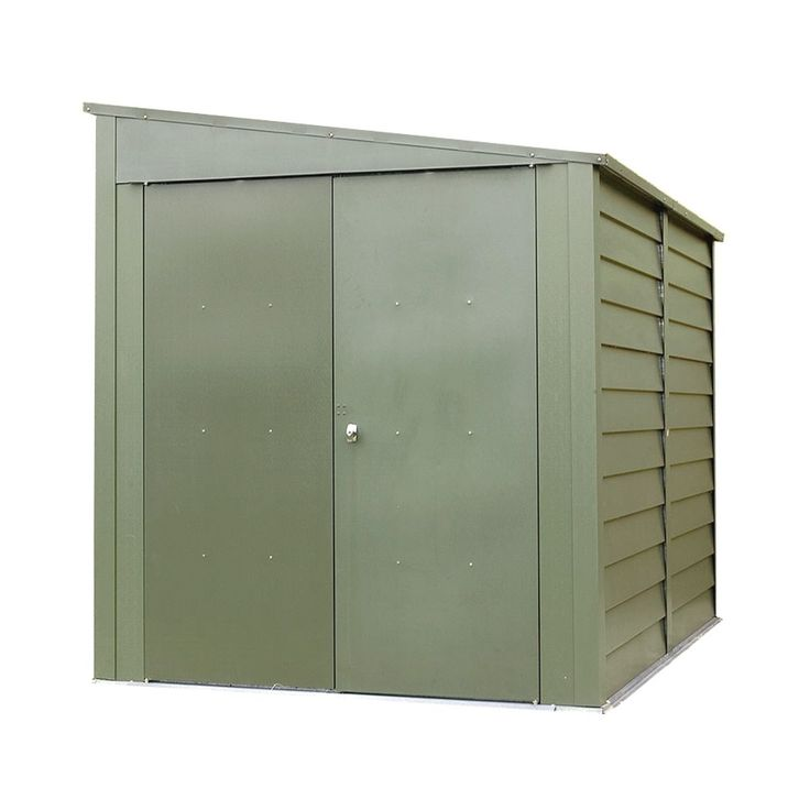 Trimetals Galvanized Steel Heavy-duty Motorcycle Storage Shed #A400