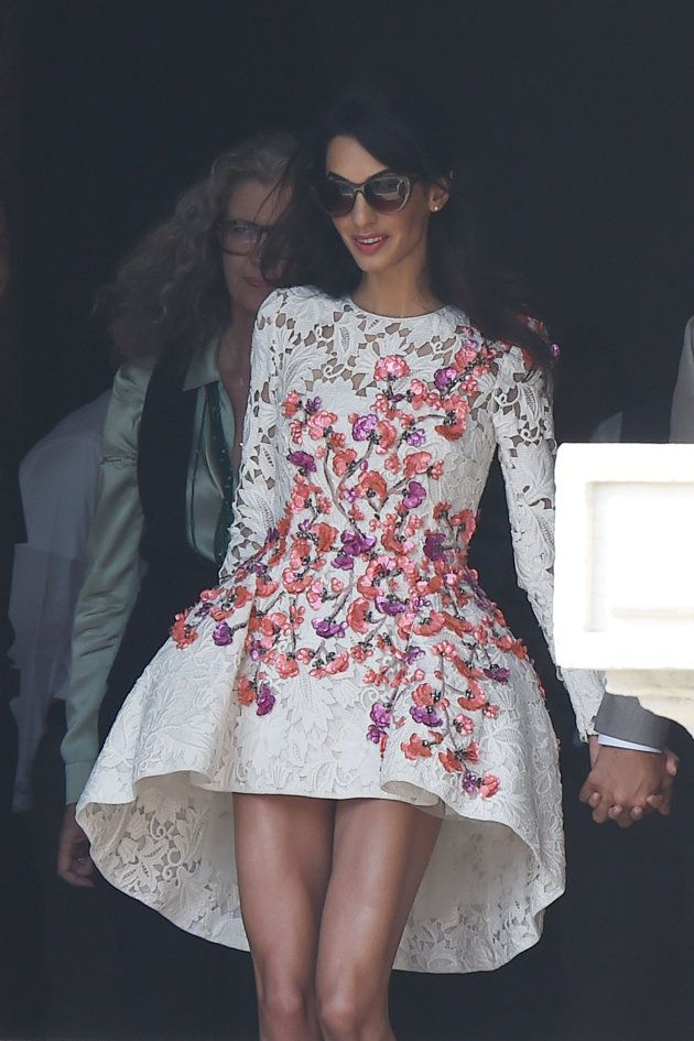 Giambattista Valli - Amal! I am still obsessed with this dress & the beautiful woman wearing it.