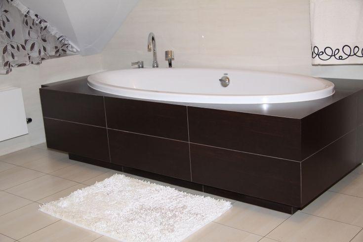 Biały dywanik łazienkowy