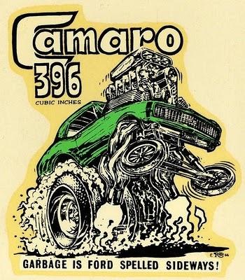 camaro 396