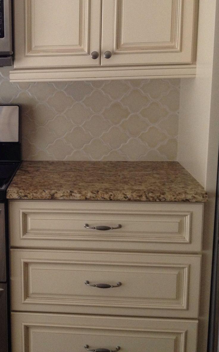arabesque tile backsplash | arabesque #backsplash #GialloOrnamental Busby-Gilbert Custom Tile Co ...