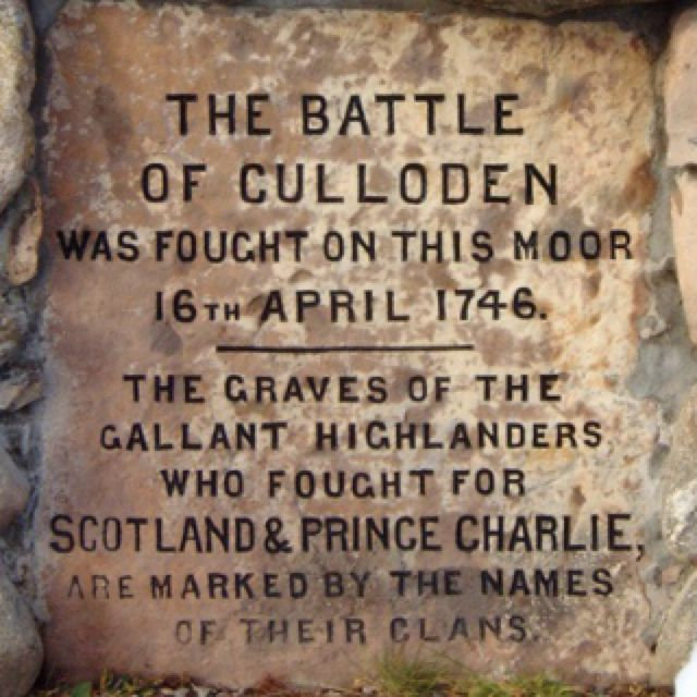 Near the end of the novel, the Jamie and Claire pay a visit to the somber battlefield on Culloden Moor...