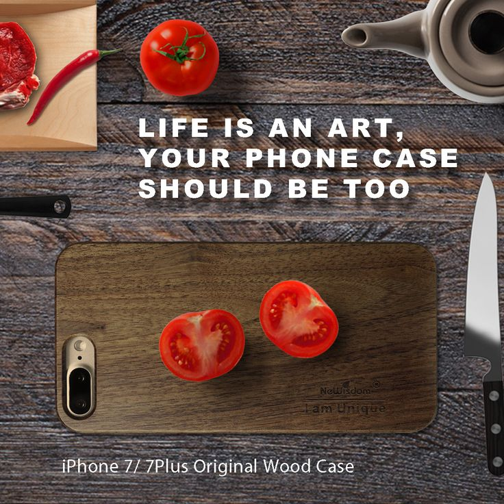 Life is an art, your phone case should be too. #NeWisdom #blackwalnut #woodcase For #iPhone7 :http://amzn.to/2mtBveU For #iPhone7plus : http://amzn.to/2l1jmZ0  #touchwoodforluck #newisdom #woodcase #handmade #amazon #iphone7 #iphone7plus #iphone #sales #apple #bamboo #gift #unique #birthdaygift #birthday #unique #nature #craft #wood #case