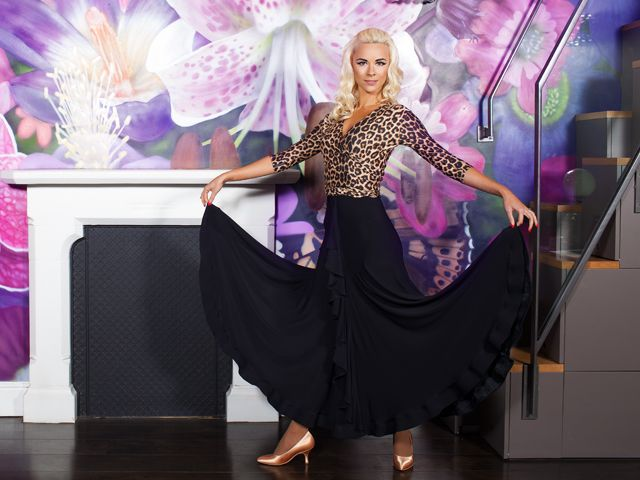 Ruffle Ballroom Skirt