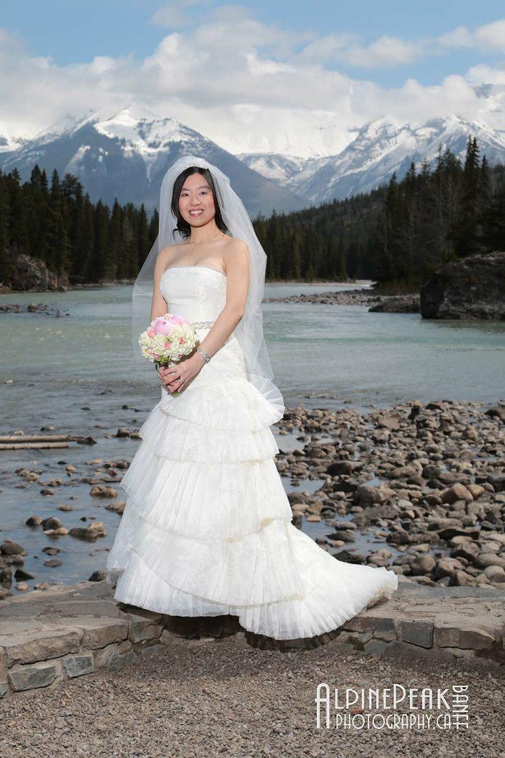 #BanffWedding #Elopeinbanff #SimplyHeavenly #PeakPhotographyBanff