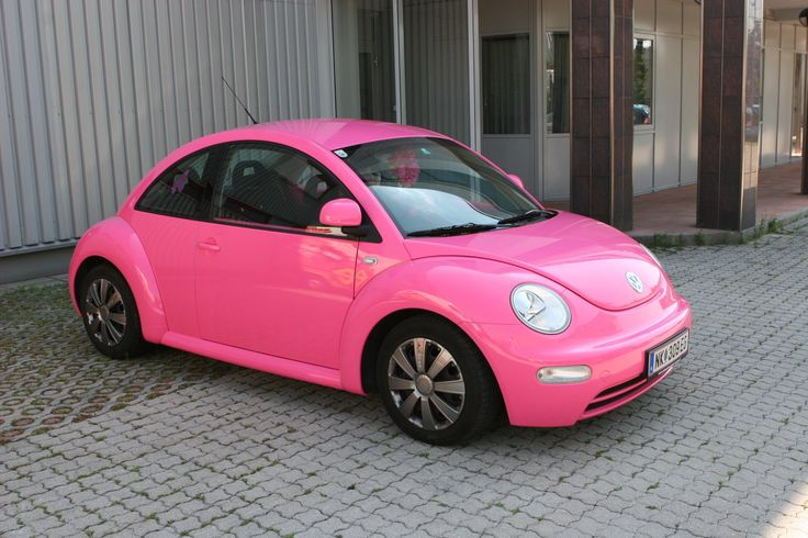 Vollfolierung VW Beetle #KFZ #Folierung #Autofolierung #carwrapping #vehiclewrapping #pink #Ebinger #VW #Volkswagen #Beetle