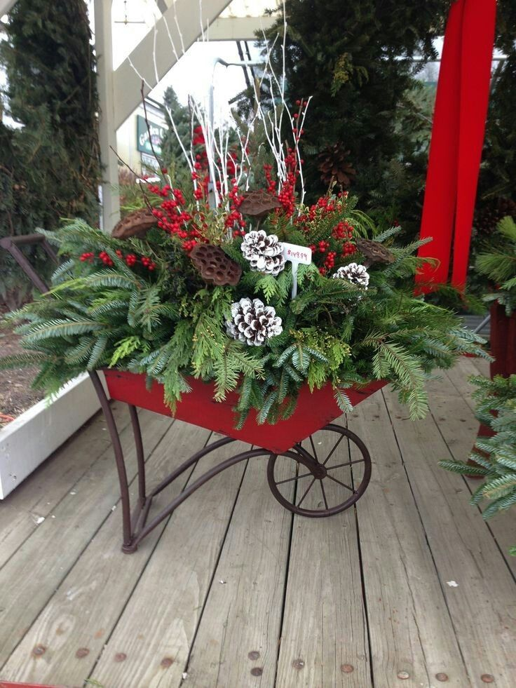 Found On Bing From Www Pinterest Com Christmas Garden Decorations Christmas Garden Christmas Greenery