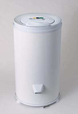 Spin Dryer: There are portable, compact, inexpensive washers and spin dryers at http://www.laundry-alternative.com which can be useful for truckers on the road. They