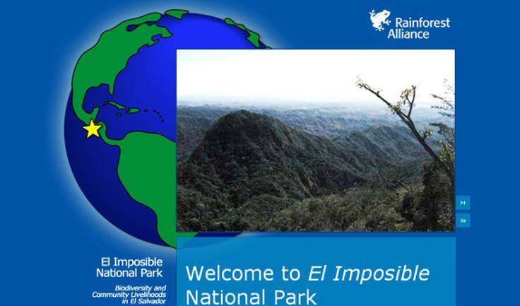 El Imposible National Park: Bioiversity and Community Livelihoods in El Salvador