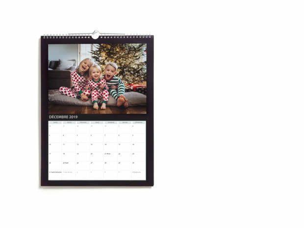 Calendrier 2021 Photobox Calendriers Photo Muraux A4 & A3 Simples 2021 | Photobox