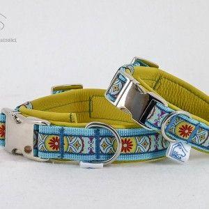 """Leder Halsband """"Summerwind"""", gelb  26,90€–29,90€"""