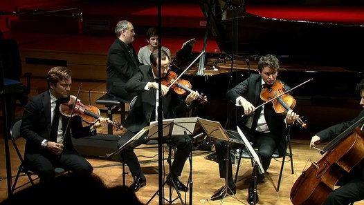 Le Quatuor Renaud Capuçon et Nicholas Angelich : Quintette en fa mineur, opus 34 de Brahms | Carrefour de Lodéon - vidéo Dailymotion