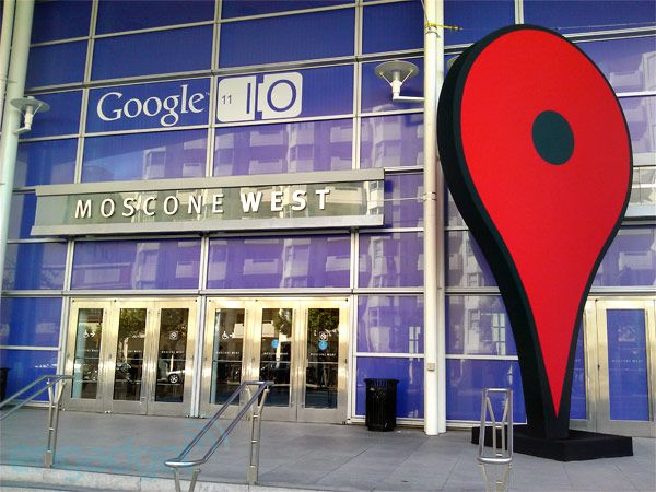 Live from Google I/O's 2013 opening keynote!