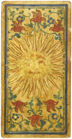The Sun - Tarot Card http://cagedcanarynz.blogspot.co.nz/-19