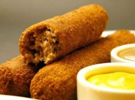 Croquete de Carne Cremoso - Veja como fazer em: http://cybercook.com.br/croquete-de-carne-r-13-584.html?pinterest-rec