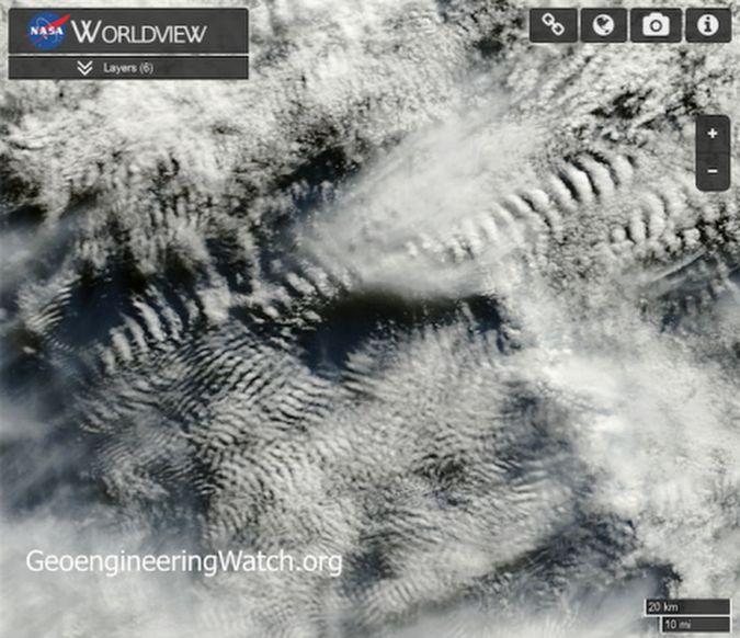 NASA Satellite Imagery Reveals Shocking Proof Of Climate Engineering