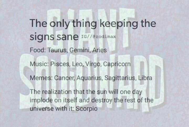 Yes. One day the earth will end then everything will be okay #scorpio
